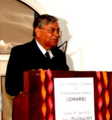 Hon'ble Justice Sunil Ambwani giving Welcome address